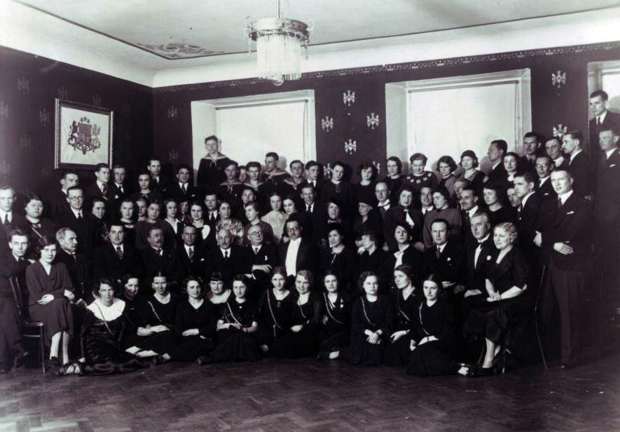 Studenci polscy w Rydze