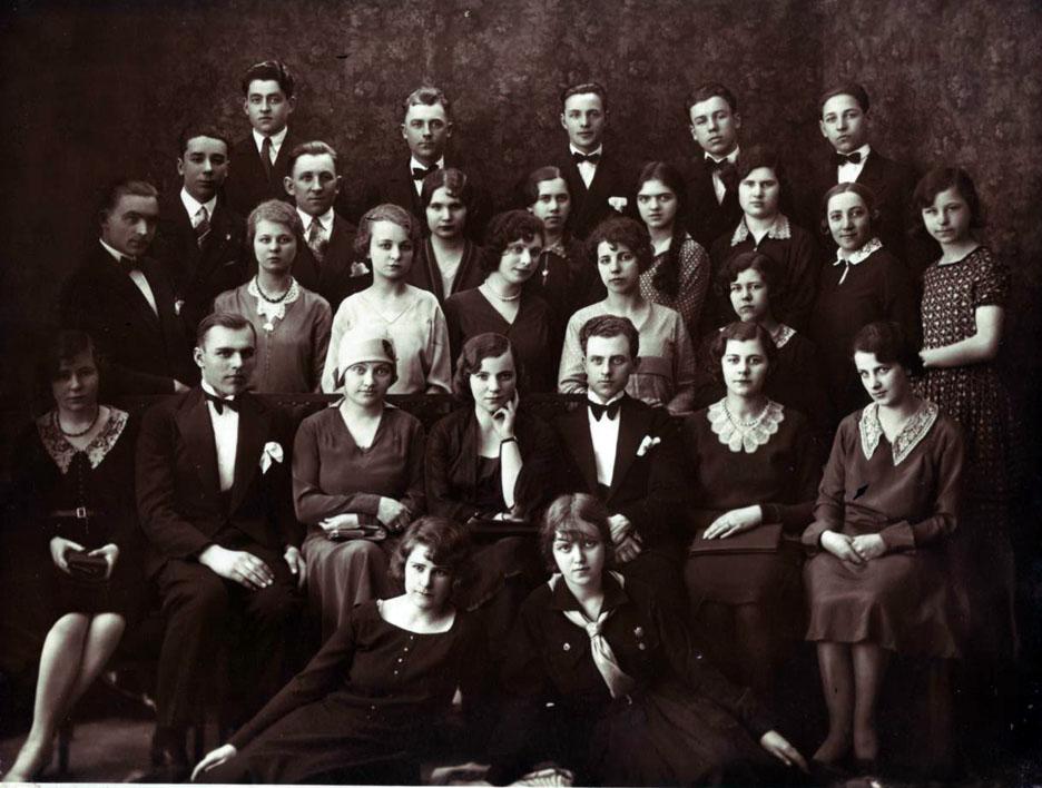 Chór Młodzieży Polskiej w Ilguciems (przedmieście Rygi) – 1929 r.