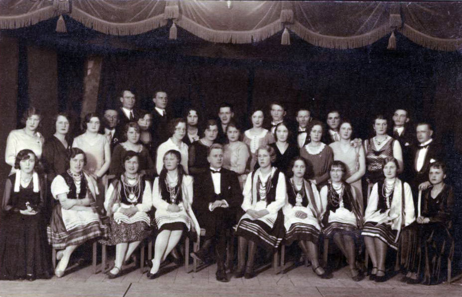 Zespół chóru przy kościele Matki Boskiej Bolesnej