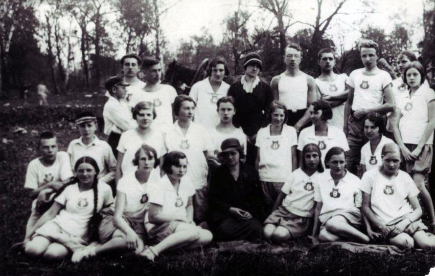 Sportowcy Gimnazjum Polskiego w Dyneburgu